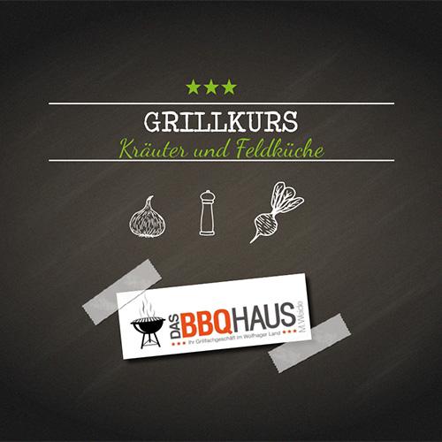 """Grillkurs """"Kräuter und Feldküche"""""""